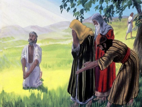 Bible Pictures - The Story of Job - The Glory Story